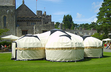 Yurt Hire for weddings
