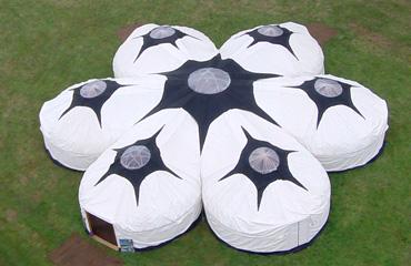 Large yurt hire