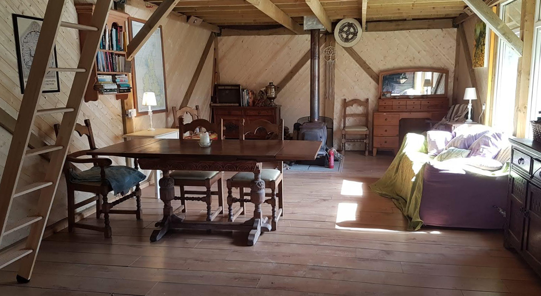 Yurt accommodation Devon